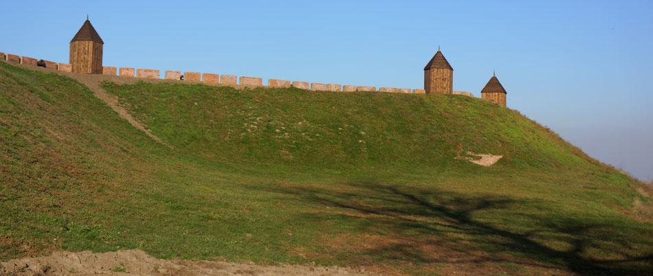 валы азовской крепости